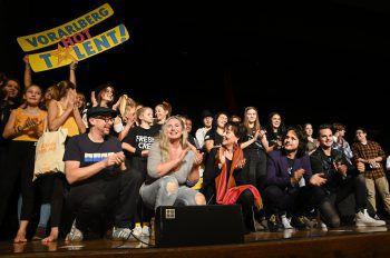 """""""Vorarlberg hot Talent"""": Alle Jahre wieder ein absolutes Highlight.Foto: handout/caritas"""