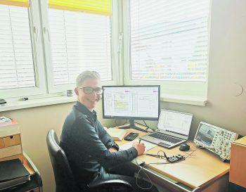 Zur Zeit ist das Studium von Bernd Kramer auf Distance Learning umgestellt. In der Praxisphase wird er bei Liebherr arbeiten.