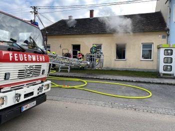 Die Feuerwehr rückte mit 40 Mann aus.Foto: APA