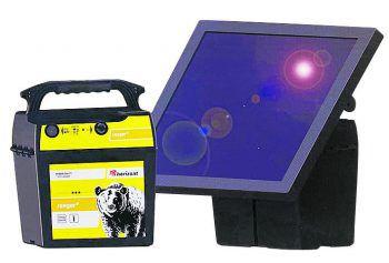 Das Weidezaungerät der Marke Horizont mit 30 Watt Solarpanel, einem 12V/35Ah Akku gibt es jetzt bei BayWa ab 399 Euro.