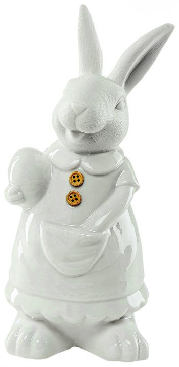 """<p class=""""caption"""">Dekohasen von """"Button"""" aus Keramik, gesehen bei Mömax um 3,99 Euro pro Stück.</p><p class=""""caption"""" />"""
