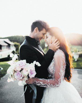 """<p class=""""caption"""">Der schönste Tag eines glücklichen Paares: eine Einsendung von Lorena.</p>"""