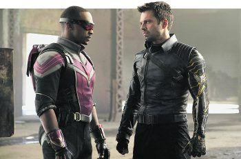 """Die Serie """"The Falcon and the Winter Soldier"""" führt die Marvel Cinematic Universe Phase 4 nach """"WandaVision"""" fort und setzt dort an, wo der Kinofilm """"Avengers: Endgame"""" vor zwei Jahren aufhörte.Fotos: Marvel/Walt Disney"""