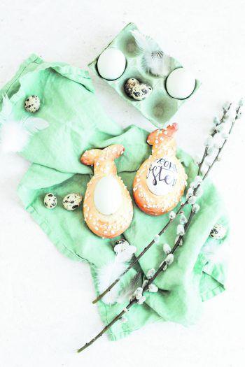 Eine süße Aufmerksamkeit für die Kollegen im Büro, den Liebsten oder für dich selbst – Germ-Häschen kommen zu Ostern bestimmt bei allen gut an. Fotos: Nadin Hiebler