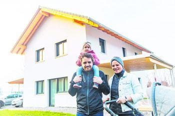 Familie Gächter hat sich gemeinsam mit Town & Country Haus den Traum vom eigenen Heim erfüllt. Fotos: Sams