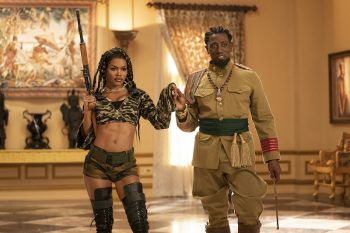 "<p class=""caption"">General Izzi (Wesley Snipes) mit Tochter Bopoto (Teyana Taylor).</p>"
