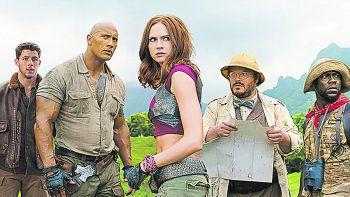 """<p class=""""title"""">Jumanji: Welcome To The Jungle</p><p>Prime Video, Film, Abenteuer. Remake des Fantasyfilms von 1995 mit Dwayne Johnson, Kevin Smith und Jack Black. Jetzt abrufbar.</p>"""