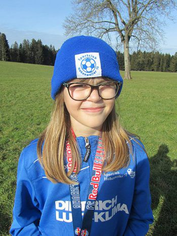 """<p>Lena Haltmayer, 9 Jahre: """"Mir hat die Idee unserer Trainer gleich sehr gut gefallen. Ich werde heute die ganze Strecke zurücklegen.""""</p>"""