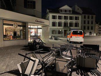 Bereits in der vergangenen Woche kam es zu Krawallen in der St. Gallener Innenstadt (Bild). WANN & WO berichtete über den Vorfall.Foto: Stadtpolizei St. Gallen