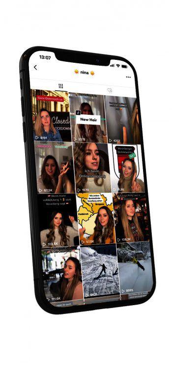 Nina spricht in ihren Videos die Alltagsprobleme eines jeden Vorarlbergers an. So zum Beispiel, wie oft die Leute aus dem Ländle mit den Schweizern verwechselt werden. Zudem legt sie den Fokus auf die Mundart-Sprache der Vorarlberger. Fotos: handout/Netzer