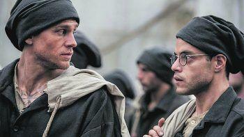 """<p class=""""title"""">Papillon</p><p>Prime Video, Film, Drama. Charlie Hunnam und Rami Malek versuchen, von der Gefängnisinsel Devil's Island zu fliehen. Ab sofort.</p>"""