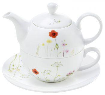 "<p class=""caption"">""Tea for one""-Set aus Bone China Keramik, gesehen bei XXXLutz um 24,95 Euro.</p><p class=""caption"" />"
