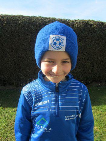 """<p>Tobias Rupfle, 8 Jahre: """"Meine Position ist im Sturm. Ich bin Kapitän der U9. Meine Mannschaftskollegen und ich können es kaum noch erwarten wieder gemeinsam zu trainieren. Bis dahin sehen wir uns jetzt wenigstens auf der Laufstrecke.""""</p><p />"""