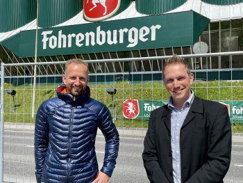 """<p class=""""caption"""">Andreas Vaschauner (WANN & WO) und Stephan Winder.</p>"""