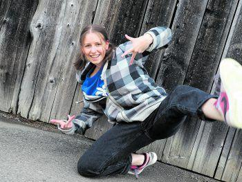 """Bereits seit sechs Jahren ist Josefina Teil der Rankweiler Tanzcrew """"One Step Ahead""""."""