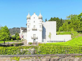 """<p class=""""caption"""">Die Lernatmosphäre in Schloss Hofen ist außergewöhnlich.</p>"""