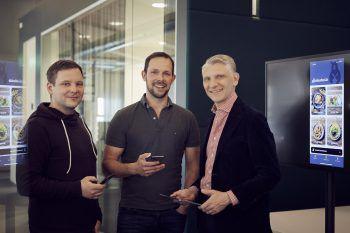 Dieter Pichler entwickelte gemeinsam mitseinen Kooperationspartnern eine App, seinen Kunden zukünftig das Bestellen und Bezahlen erleichtert.Foto: Marcel Mayer