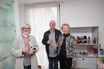 """<p class=""""caption"""">Elisabeth Nachbaur, Dietmar und Gertraud Frankenhauser.</p>"""