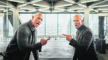 """<p class=""""title"""">Hobbs & Shaw</p><p>Prime Video, Film, Action. Regisseur David Leitch schickt """"The Rock"""" und Jason Statham in den Kampf gegen den Terroristen Brixton (Idris Elba). Ab sofort.</p>"""