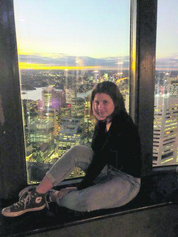 """<p class=""""caption"""">Hoch über den Dächern von Sydney. Fotos: handout/Noelia Copony</p>"""