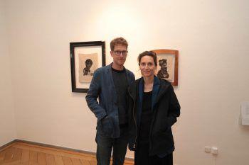 """<p class=""""caption"""">Laurenz Feinig und Bianca Lugmayr.</p>"""