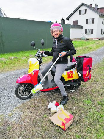 """<p class=""""caption"""">Machen statt reden – das nennt McDonald's """"Machhaltigkeit"""". Foto: handout/McDonald's</p>"""