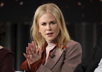 """<p class=""""title"""">Nicole Kidman</p><p>Geboren auf Hawaii, zog Kidman mit drei Jahren mit ihrer Familie in einen Vorort von Sydney. Schon früh übte sie sich in Schauspielerei, ihr internationaler Durchbruch gelang ihr 1990 in """"Tage des Donners"""" an der Seite von Tom Cruise.</p>"""