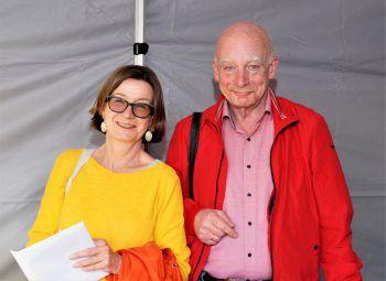 "<p class=""caption"">Regisseurin Barbara Herold und Harald Petermichl.</p>"