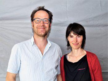 """<p class=""""caption"""">Tänzerin Nathalie Begle und Stadtrat Martin Hämmerle.</p>"""