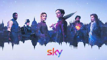 """<p class=""""title"""">The Nevers</p><p>Sky, Serie, Sci-Fi/Action. HBO-Superheldinnen-Power im viktorianischen London von """"Avengers""""-Macher Joss Whedon. Läuft jetzt.</p>"""