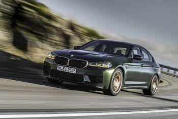 """<p class=""""title"""">               BMW M5 CS             </p><p>Ein neues, limitiertes Topmodell: Der BMW M5 CS ist das bislang stärkste Serienmodell der Marke. Mit 635 PS und einer hochwertigen Alcantara-Ausstattung im Inneren ist er ein echt heißer Wagen! Preis: ab 180.400 Euro.</p>"""
