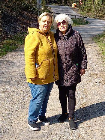 """Chiara: """"Meine Mama war auch in schweren Zeiten, ob Gesundheit oder Krankheit, immer an meiner Seite. Dafür bin ich ihr sehr dankbar.""""Fotos: handout/privat"""
