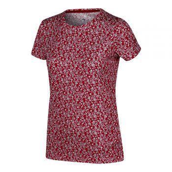 """<p class=""""title"""">Damen-Funktions-Shirt</p><p>Das schnelltrocknende Damen-Funktions-Shirt der Marke Regatta zeichnet sich im Besonderen durch einen sehr guten Feuchtigkeitstransport aus. Zudem besitzt es einen modischen Aufdruck. Preis: 19,99 Euro.</p>"""