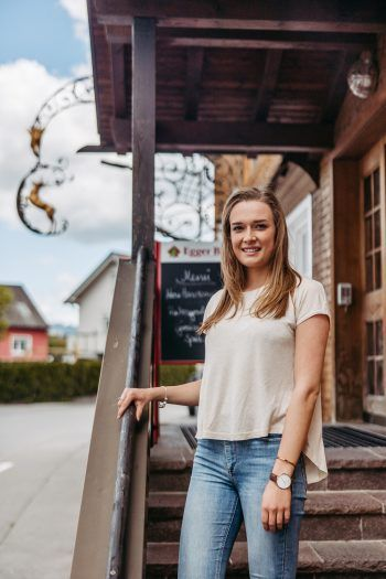 """<p class=""""caption"""">Das Gasthaus Hirschen in Altach ist bekannt für regionale und saisonale Köstlichkeiten.</p>"""
