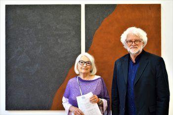 "<p class=""caption"">Das Künstlerpaar Ursula Dornig und Norbert Müller.</p>"