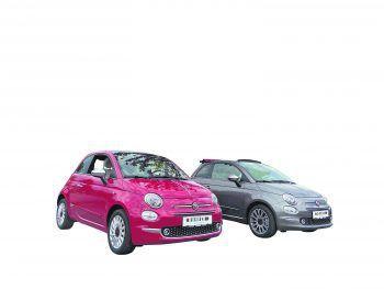 """Der Fiat 500 """"Dolcevita"""" – der stylische Italiener ist jetzt beim Autohaus Rohrer zu einem super Preis erhältlich. Fotos: handout/Fiat; Rohrer"""