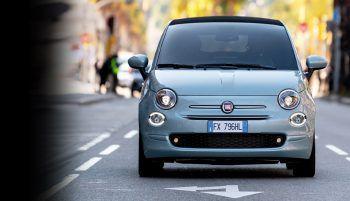 """<p class=""""caption"""">Der Fiat 500 vereint in der Elektro-Version die nachhaltige Antriebstechnologie mit der Welt des Stils.</p>"""