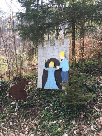 Der Legende nach soll die Burgherrin von Rosenegg verflucht worden sein. Sie wartet bis heute auf ihre Befreiung.Fotos: handout/The Sunny Side of Kids/D'Errico