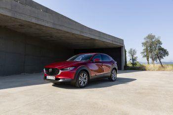 Der neue Mazda CX-30 ist jetzt noch stärker. Fotos: handout/Mazda
