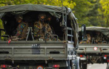 Die Armee sucht nach dem Mann. Foto: AP