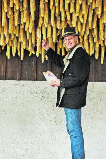 """<p class=""""caption"""">Dietrich Vorarlberger Kostbarkeiten bietet schmackhaften Riebelmais us üsam Ländle.</p>"""