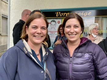 "<p class=""caption"">Dr. Magdalena Wöss und Lucia Wieländner.</p>"
