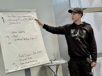 E-Sports, poolbar-Event und die neue Lehrlingskarte waren Themen beim Workshop. Fotos: Lehre in Vorarlberg