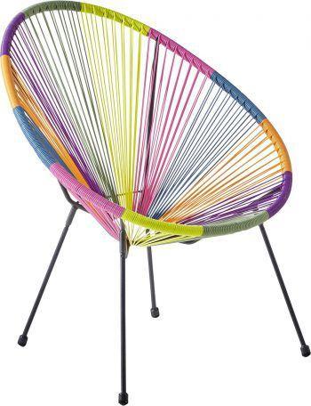 "<p class=""caption"">Ein echter Farbkleks: Bunter Sessel, gesehen bei XXXLutz, Preis: ab 59,95 Euro.</p>"