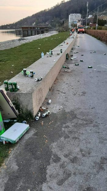 Erst kürzlich geriet die Pipeline in Bregenz wegen Mülls in die Schlagzeilen. Foto: R.Boss/facebook