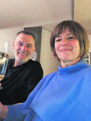 """<p class=""""caption"""">Jörg Potzinger und Nadja Malin-Potzinger (Autohaus Malin).</p>"""