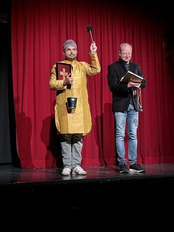 Markus Lins und Manfred Kräutler.