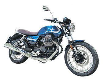 """<p class=""""title"""">Motoguzzi V7 Special</p><p>Edel wie ein italienischer Adelssitz: mit klassischen Doppelarmaturen, viel Chromglanz, braunem Sattel und Speichenrädern ist die Motoguzzi V7 Special ein echter Hingucker.</p><p>Mit einem V2 Motor mit 853 Kubik bietet der modernste aller Small Blocks 65 PS. Jetzt gibt es das Bike bei Motorrad Loitz in Lauterach zum Aktionspreis von 10.499 Euro.</p>"""