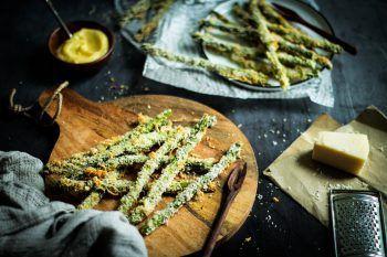 Nadin bevorzugt zwar grünen Spargel, das Rezept schmeckt aber auch mit weißem Spargel köstlich. Fotos: Nadin Hiebler, SPAR