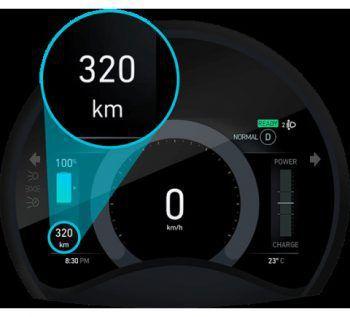 ReichweiteDie verfügbare Reichweite von 320 Kilometer deckt alle Alltags-Aktivitäten ab. Bei einer reinen Nutzung im Stadtverkehr ist auch eine beeindruckende Reichweite von 460 Kilometern möglich.